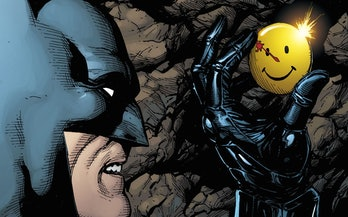 Remember when Batman met the Watchmen?