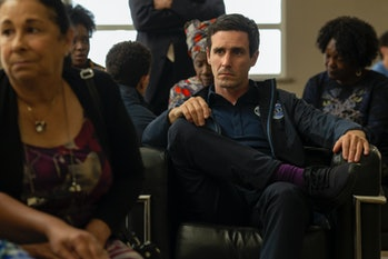 Nick Fletcher (James Ransone) isone of five astronauts chosen as part of the Vista program to colonize Mars in 'The First'.