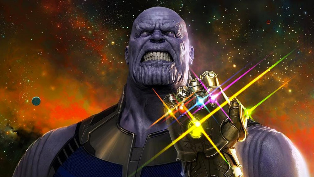 Thanos looks pretty scary in 'Infinity War'.