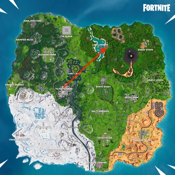 Fortnite Season 8 Week 1 Discovery Secret Battle Star Map