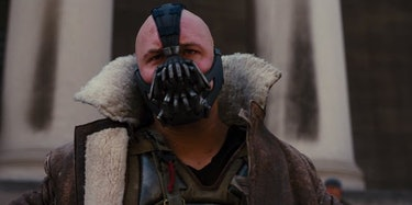Tom Hardy as Bane in 'Dark Knight Rises'