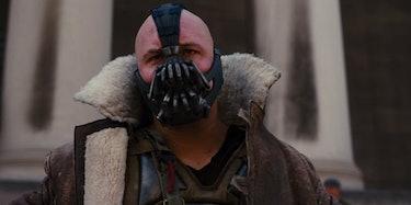 Tom Hardy as Bane in 'Dark Knight Rises'