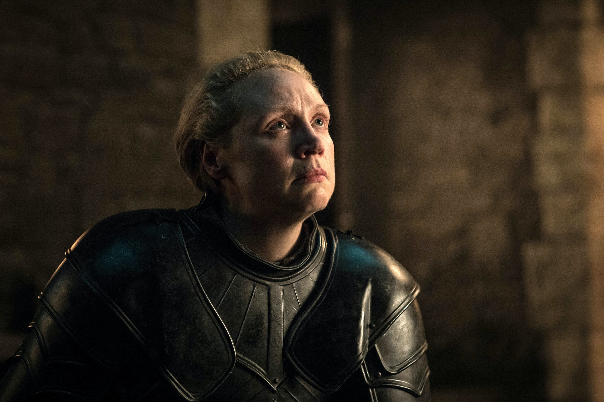 game of thrones brienne knighting