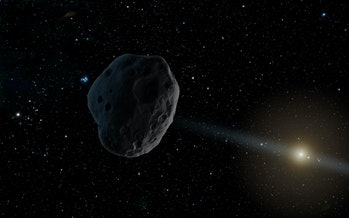 asteroid in solar system