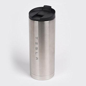 Tesla Stainless Steel Travel Mug/Tumbler 16oz
