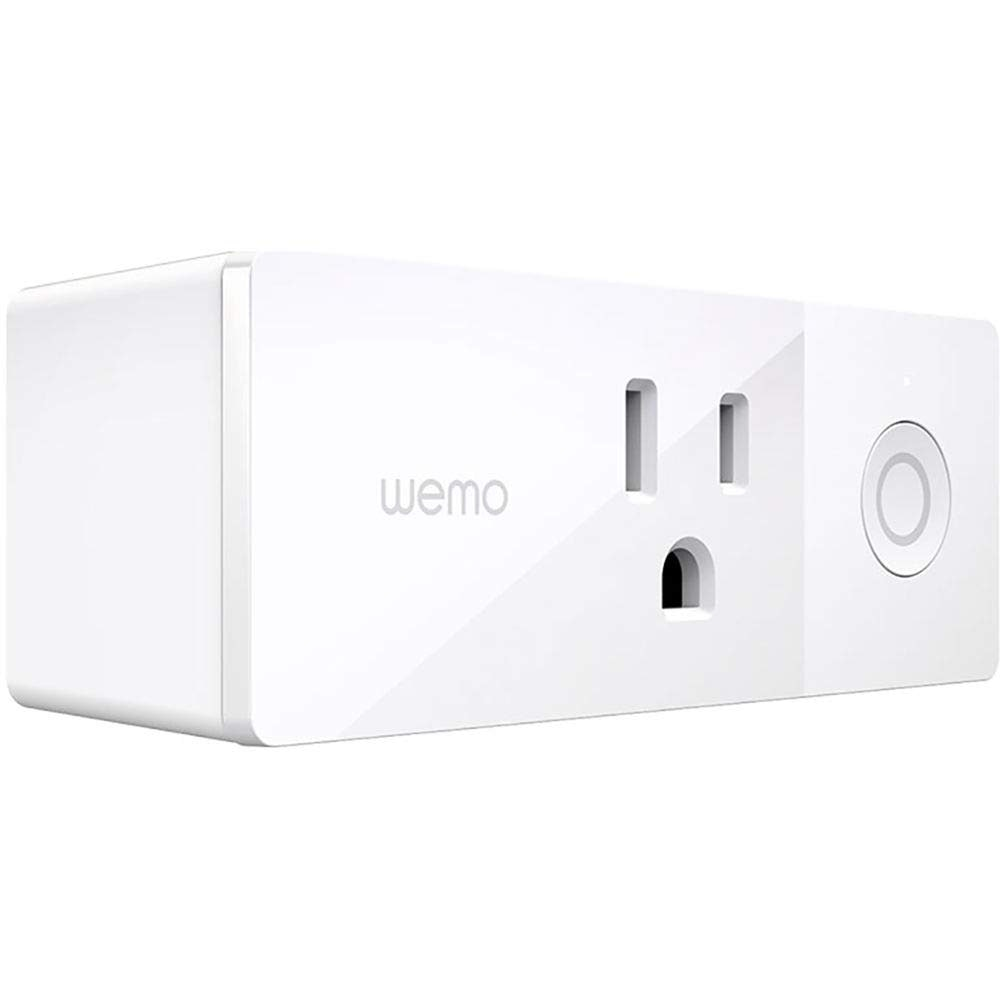 Wemo Mini Smart Plug, WiFi Enabled, Works with Alexa, Google Assistant & Apple HomeKit