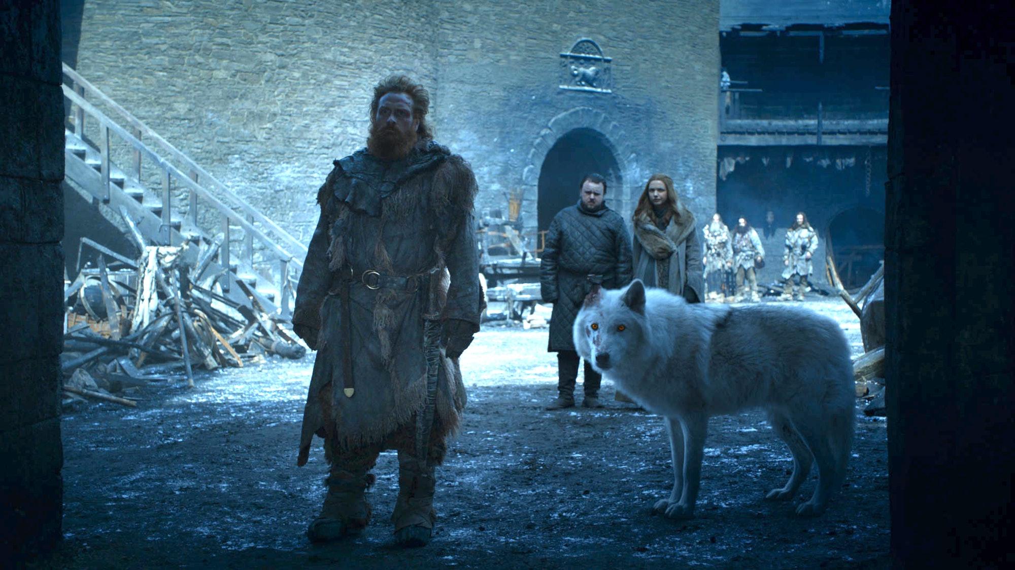 Game of Thrones Tormund Ghost