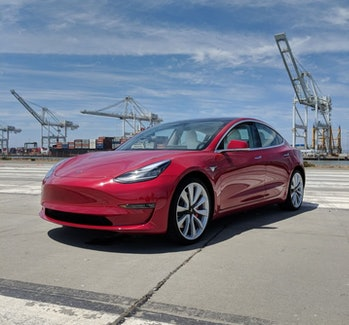 Tesla Model 3 performance edition