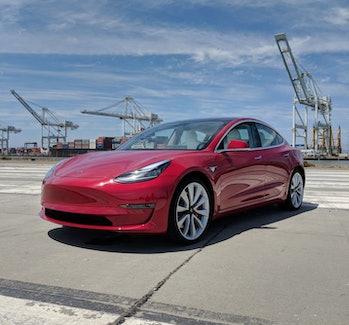 Tesla Model 3 performance edition