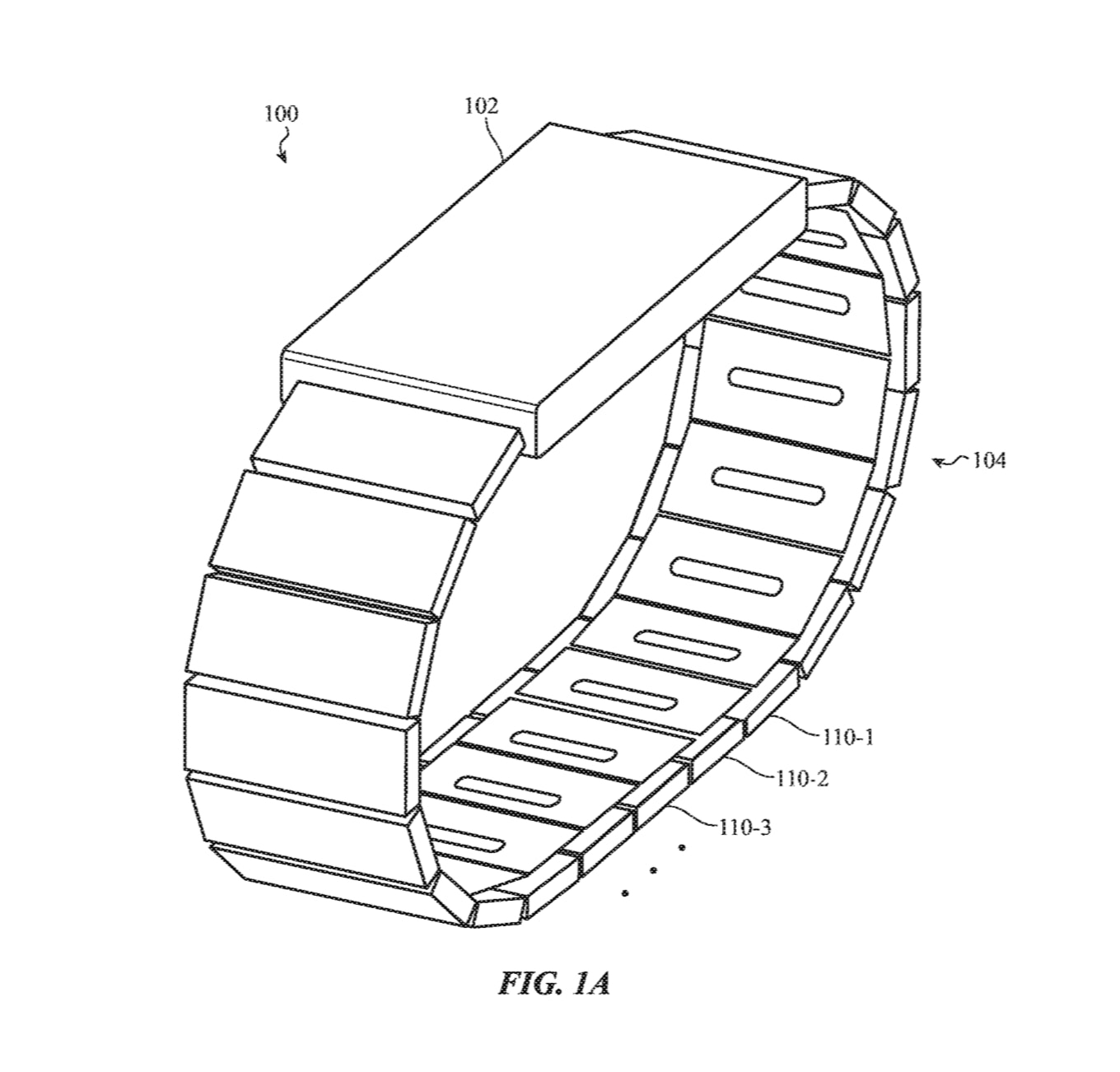 Apple Watch clasping mechanism.