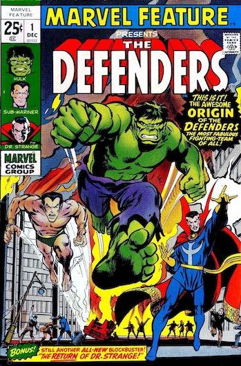 The Defenders Comic