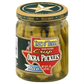 Talk O Texas Okra Pickled Mild