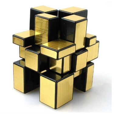 gold rubiks cube