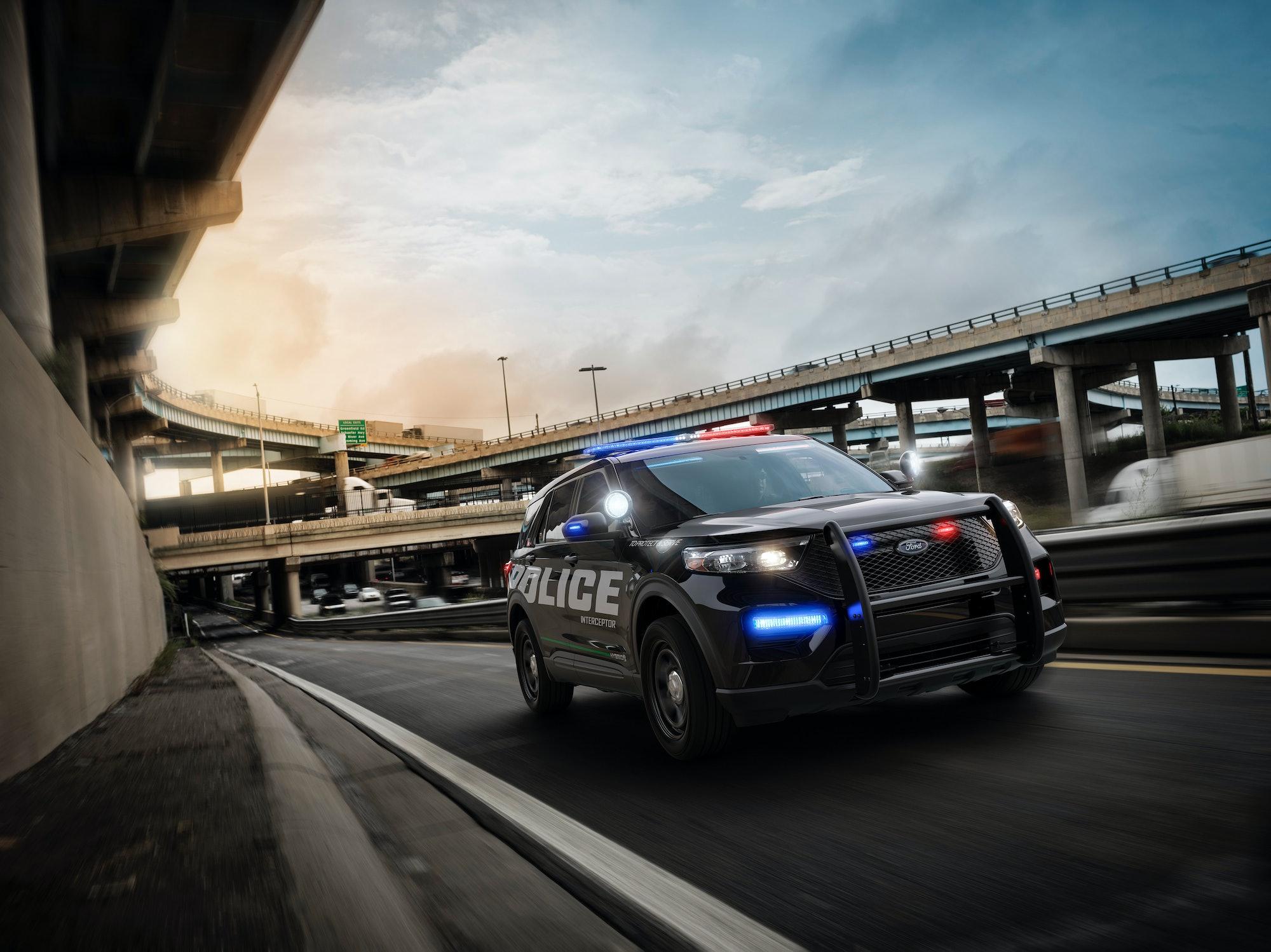 The Ford Police Interceptor.