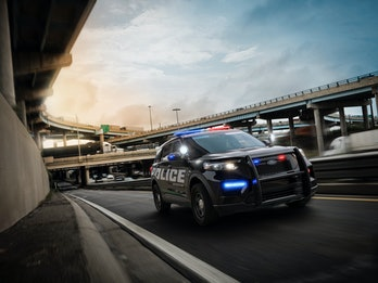The Ford Police Interceptor.