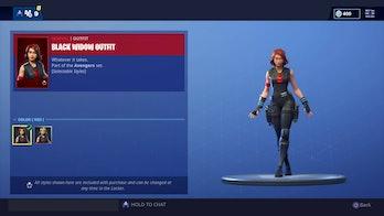 Black Widow Fortnite