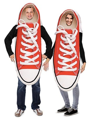 Tigerdoe Couples Costumes – Novelty Sneaker Costume