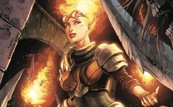 Magic the Gathering Chandra IDW comics