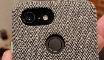 Google Pixel 3 button