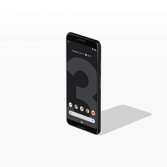 Google - Pixel 3 with 64GB Memory Cell Phone (Unlocked) - Just Black