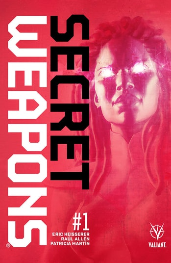 Valiant Secret Weapons Eric Heisserer