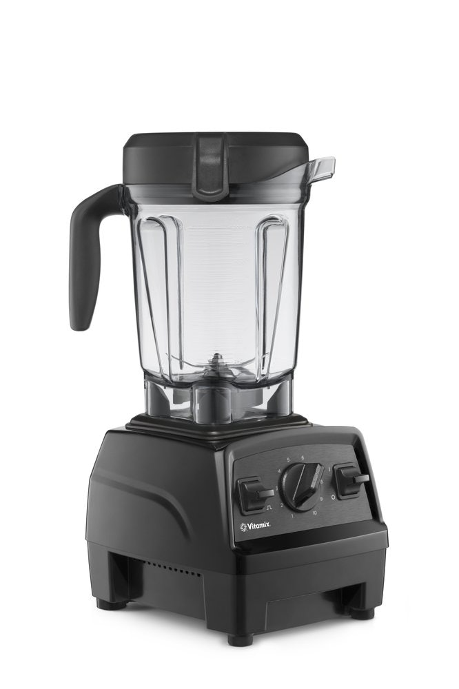Vitamix Explorian Blender, Professional-Grade, 64 oz. Low-Profile Container, Black