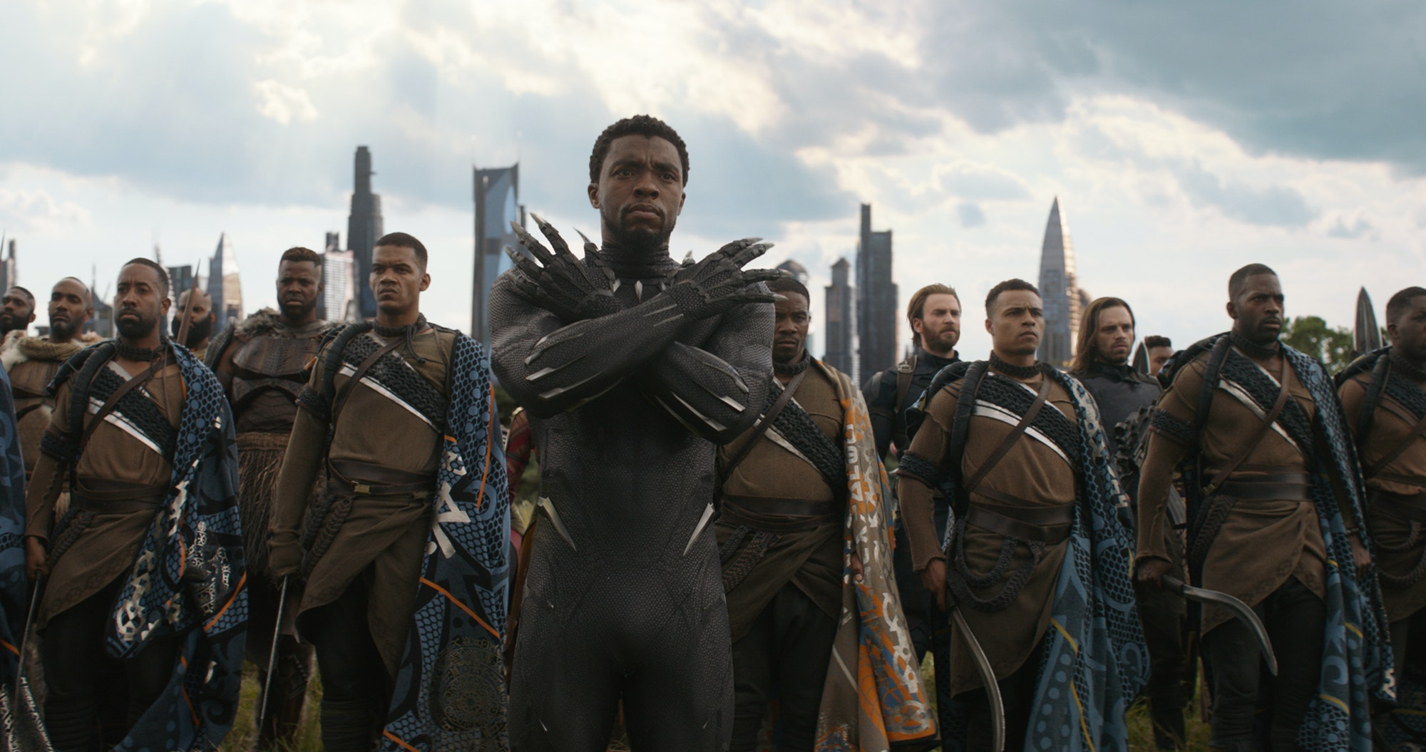 Black Panther in 'Avengers: Infinity War'.