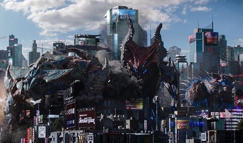 Three new Kaiju attack Earth all at once in 'Pacific Rim Uprising'.