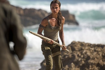'Tomb Raider' (2018) will be a survivalist adventure with an inexperienced hero that becomes a badass.