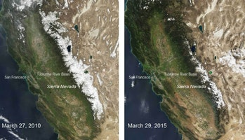 California's Sierra Nevada mountains