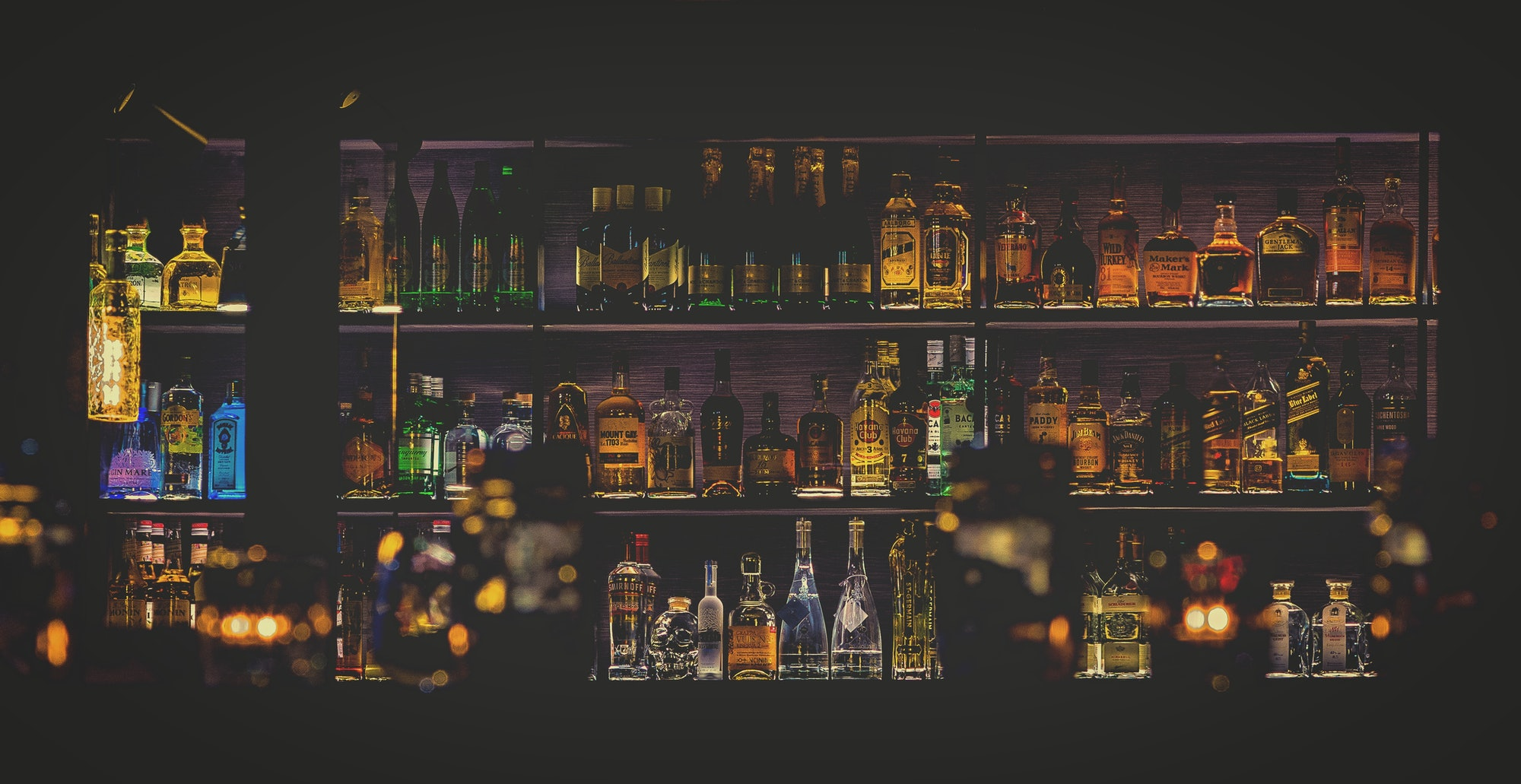 vodka drinks bar