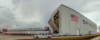 SpaceX used rocket