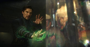 Doctor Strange (Benedict Cumberbatch) and the Time Stone in 'Doctor Strange'