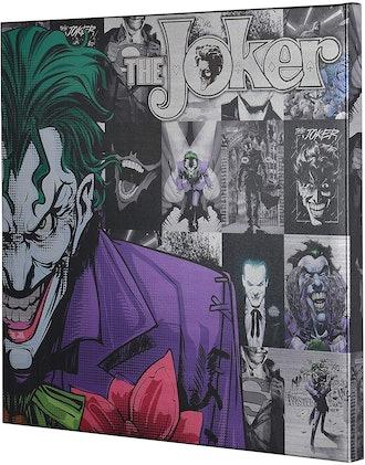 Edge Home Products DC Joker Metallic Canvas Art