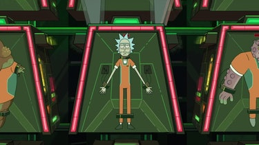 """The Wedding Squanchers"" ends with Rick in jail and Earth occupied by the Galactic Federation."