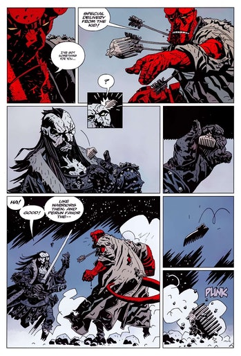 Hellboy Post Credits Koschei