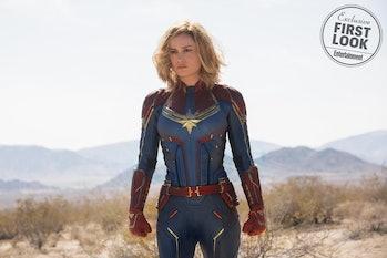 Brie Larson as Captain Marvel in 'Captain Marvel'
