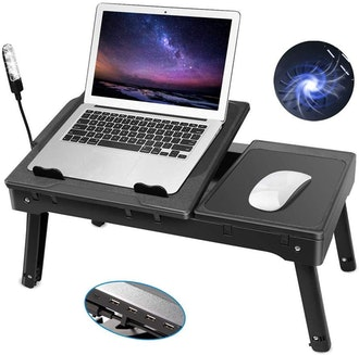 Laptop Table for Bed-Moclever Multi-Functional Laptop Bed Tray