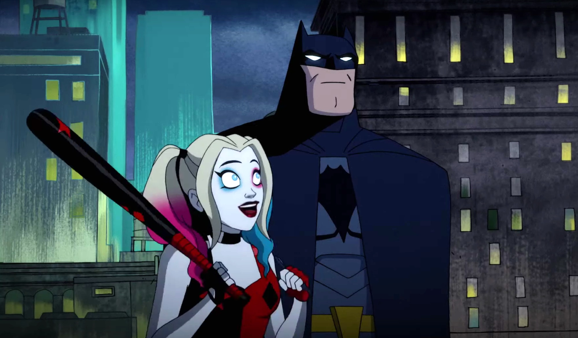 harley quinn series batman