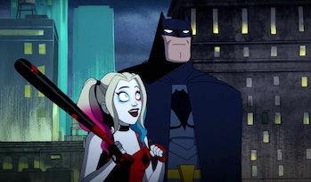 harley quinn series batman