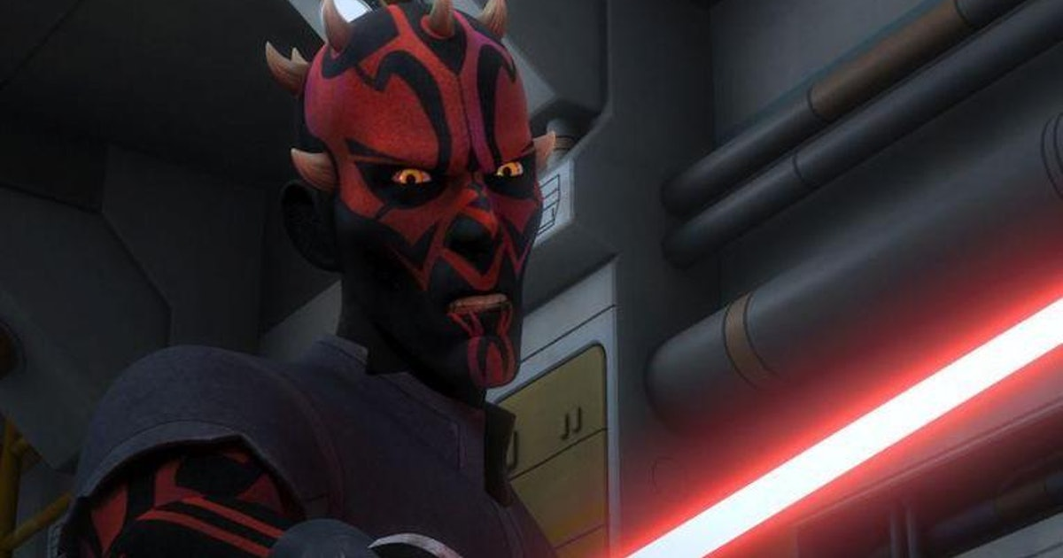 Darth Maul is a Better Cyborg than Vader on 'Star Wars Rebels'