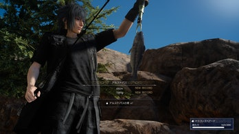 Fishing in Final Fantasy XV