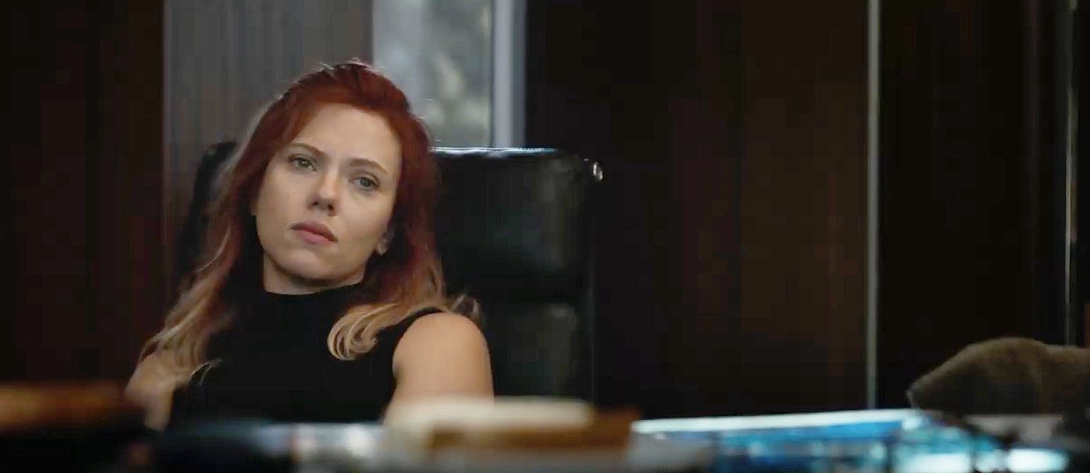 Scarlett Johansson as Black Widow in 'Avengers: Endgame'