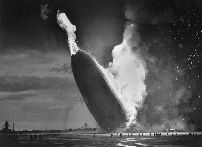 The Hindenburg Disaster changed flying forever.