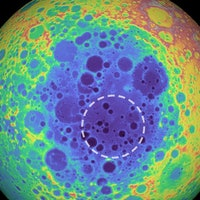 """Scientists detected a metal """"anomaly"""" deep beneath the lunar surface"""