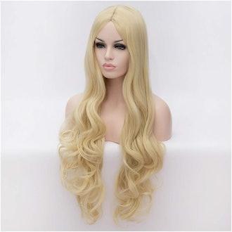 Flovex Women Long Wavy Cosplay Wigs