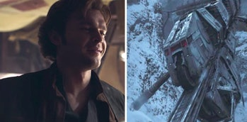 Han Solo and that mysterious train.