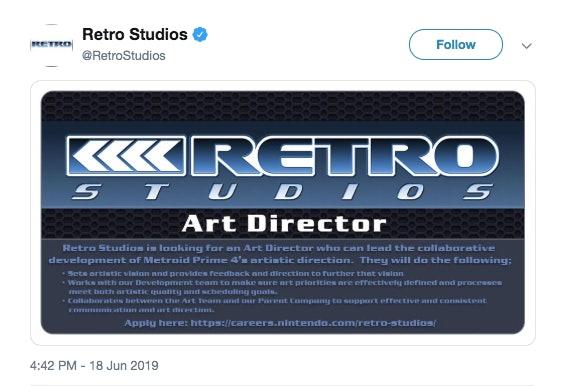 metroid prime 4 release date delay nintendo switch retro studios