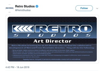 metroid prime 4 release date delay nintendo switch retro studios