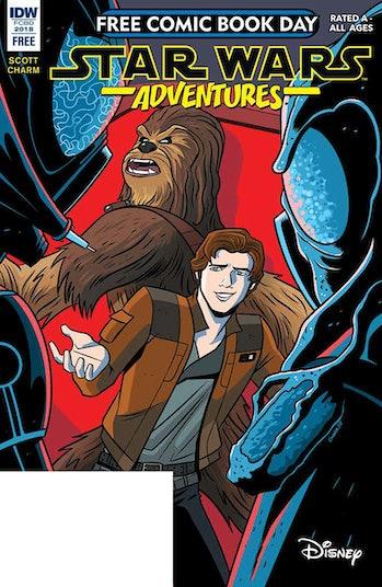 star wars adventure free comic book day